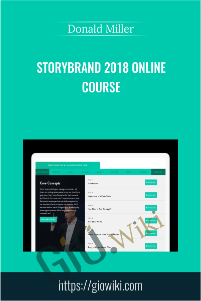 StoryBrand 2018 Online Course - Donald Miller