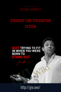 Straight Line Persuation System – Jordan Belfort