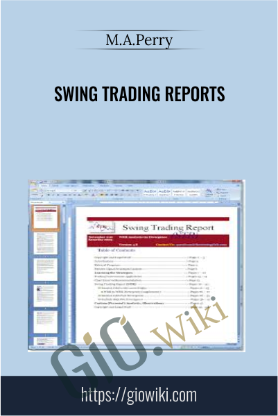 Swing Trading Reports - M.A.Perry