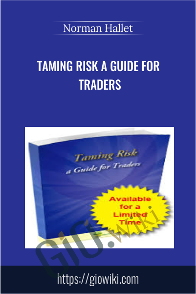 Taming Risk a Guide for Traders - Norman Hallet