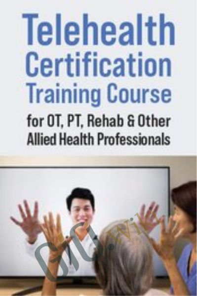 Telehealth Certification Training Course for OT, PT, Rehab & Other Allied Health Professionals - Donald L. Hayes