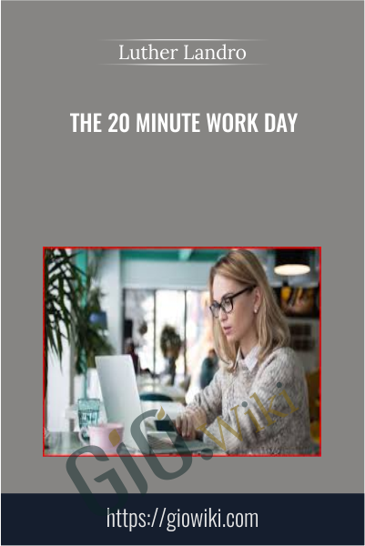 The 20 Minute Work Day - Luther Landro