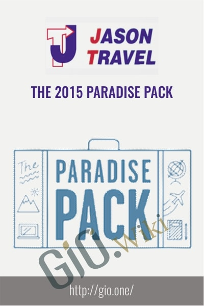 The 2015 Paradise Pack - Jason and Trav