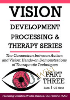 The Connection Between Autism and Vision: Hands-on Demonstrations of Therapeutic Techniques - Christine Winter-Rundell