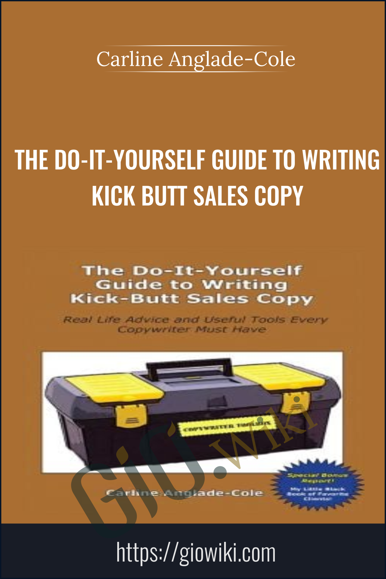 The Do-It-Yourself Guide to Writing Kick-Butt Sales Copy - Carline Anglade-Cole