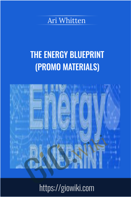 The Energy Blueprint (Promo Materials) - Ari Whitten