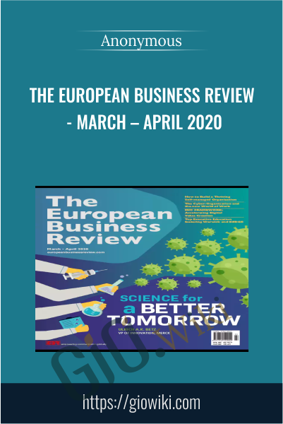 The European Business Review - March – April 2020