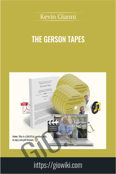 The Gerson Tapes -  Kevin Gianni