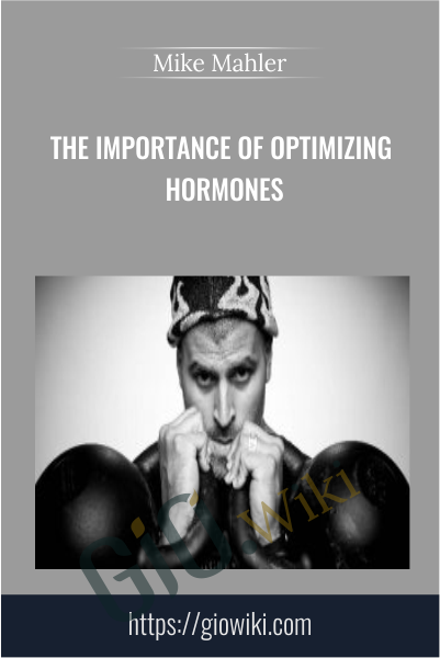 The Importance of Optimizing Hormones - Mike Mahler