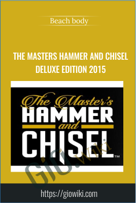 The Masters Hammer and Chisel DELUXE EDITION 2015 - Beach body