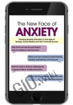 The New Face of Anxiety: Treating Anxiety Disorders in the Age of Texting, Social Media and 24/7 Internet Access - Margaret Wehrenberg