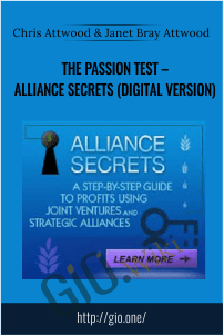 The Passion Test – Alliance Secrets (Digital Version) – Chris Attwood & Janet Bray Attwood