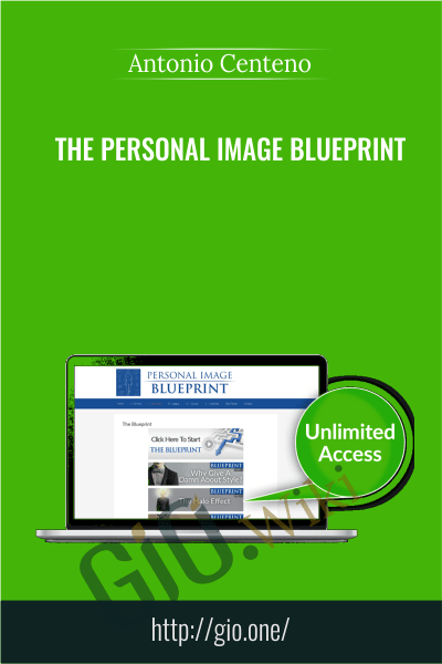 The Personal Image Blueprint - Antonio Centeno