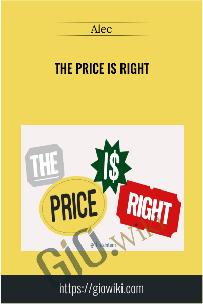The Price is Right - Alec