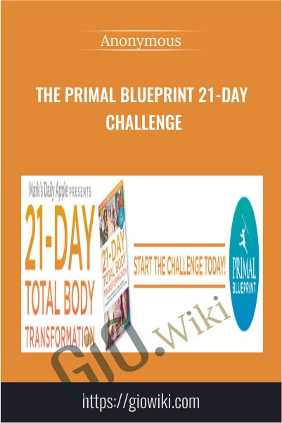 The Primal Blueprint 21-Day Challenge