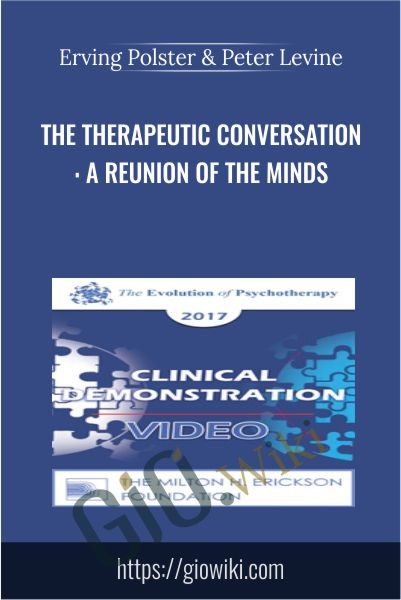 The Therapeutic Conversation: A Reunion of the Minds - Erving Polster & Peter Levine
