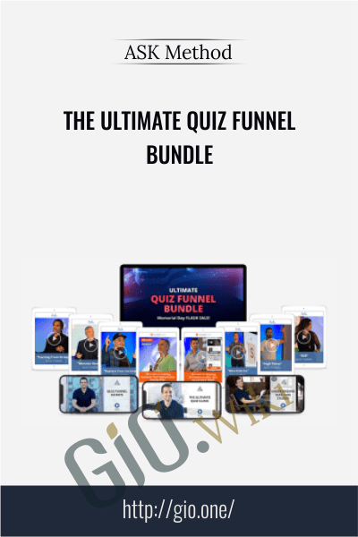 The ULTIMATE Quiz Funnel Bundle - ASK Method