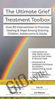 The Ultimate Grief Treatment Toolbox: Over 60 Interventions to Promote Healing & Hope Among Grieving Children, Adolescents & Adults - Erica Sirrine