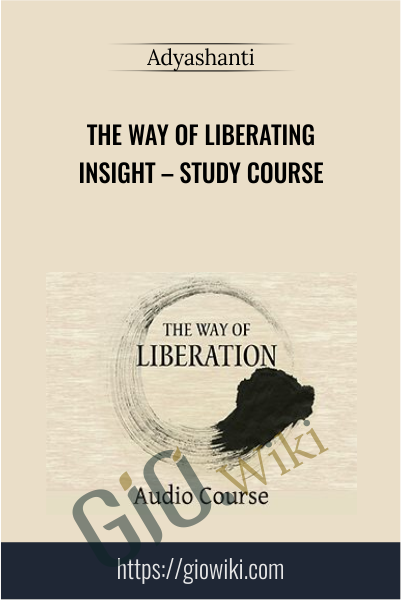 The Way Of Liberating Insight – Study Course - Adyashanti