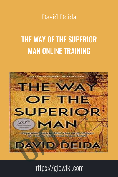 The Way of the Superior Man Online Training - David Deida