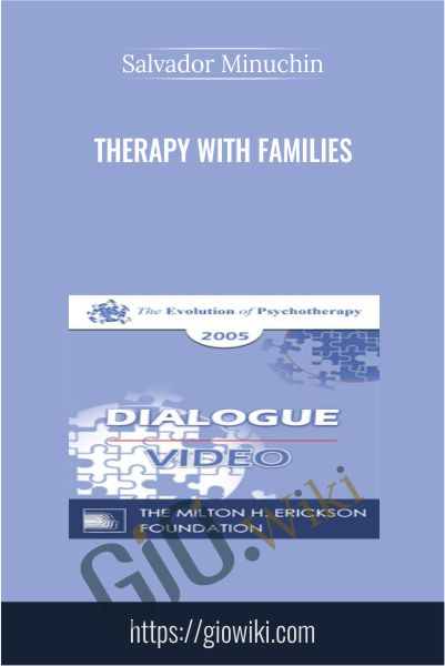 Therapy with Families - Salvador Minuchin