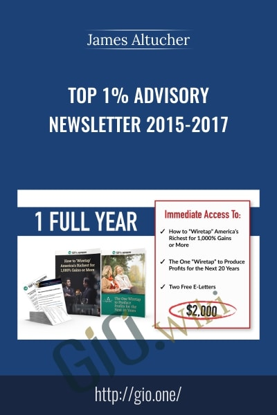 Top 1% Advisory Newsletter 2015-2017