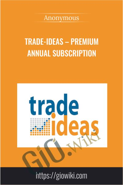 Trade-ideas – Premium Annual Subscription