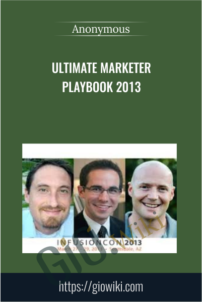 Ultimate Marketer Playbook 2013