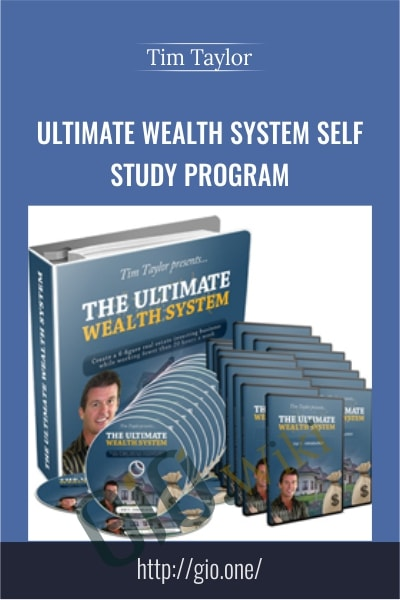Ultimate Wealth System Self – Study Program - Tim Taylor