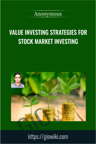 Value Investing Strategies for Stock Market Investing