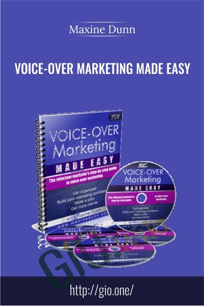 Voice-Over Marketing Made Easy - Maxine Dunn
