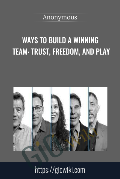 Ways to Build a Winning Team: Trust, Freedom, and Play