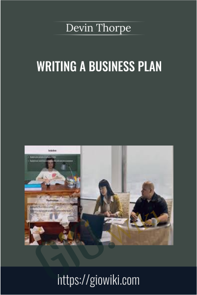 Writing a Business Plan - Devin Thorpe