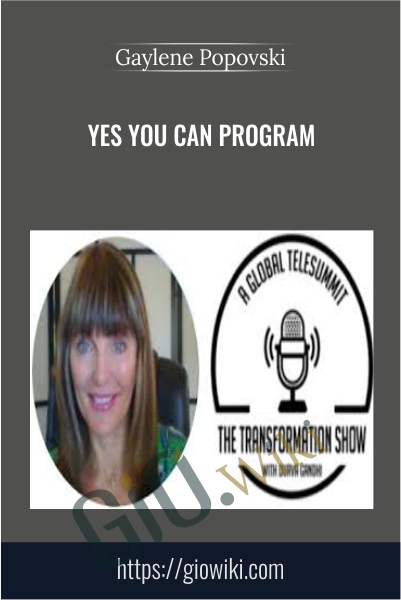 Yes You Can Program - Gaylene Popovski