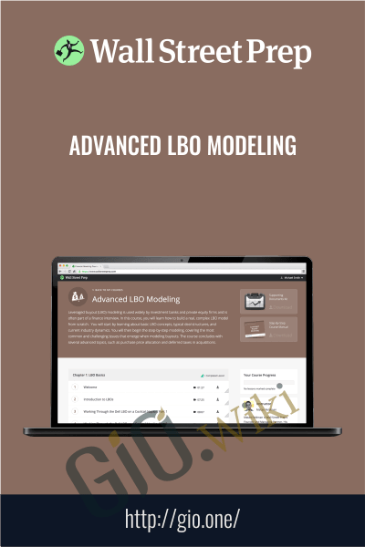 Advanced LBO Modeling - Wall Street Prep