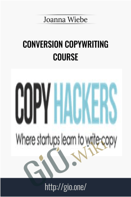 Conversion Copywriting Course – Joanna Wiebe