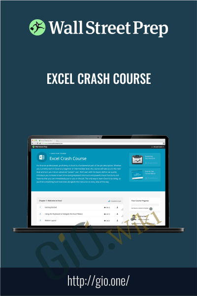 Excel Crash Course - Wall street prep