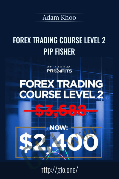 Forex Trading Course Level 2 - Pip Fisher - Adam Khoo