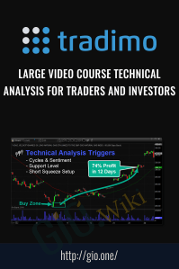 Large Video Course Technical Analysis for traders and investors – Tradimo