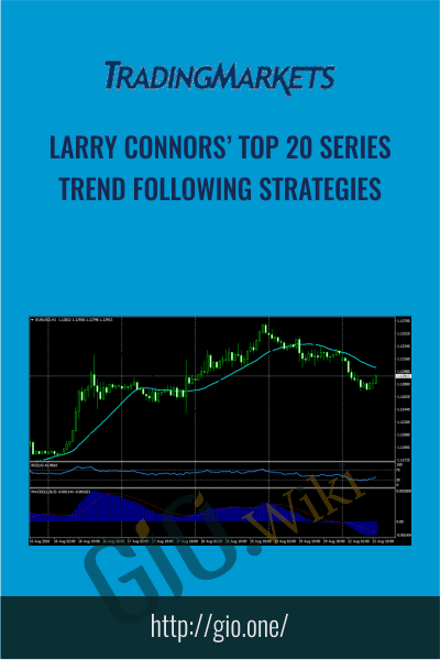 Larry Connors' Top 20 Series: Trend Following Strategies - TradingMarkest