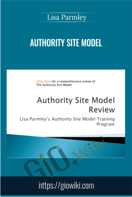 Authority Site Model - Lisa Parmley