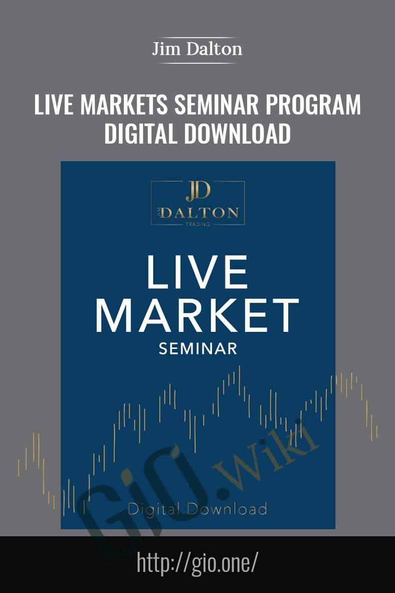 Live Markets Seminar Program – Digital Download