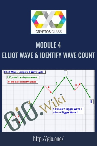Module 4 Elliot Wave and Identify Wave Count – CryptosClass