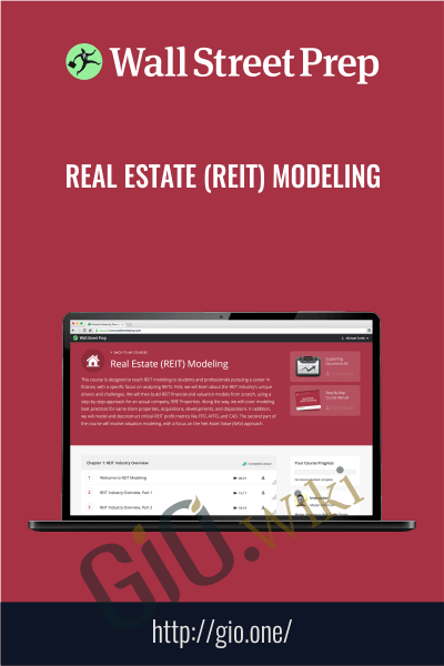 Real Estate (REIT) Modeling - Wall Street Prep