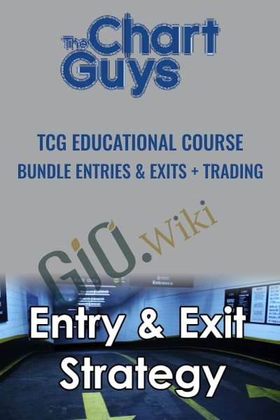 TCG Educational Course Bundle Entries & Exits + Trading