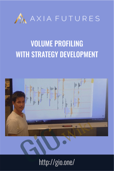 Volume Profiling  with Strategy Development - Axia Futures