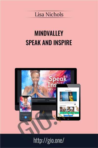 Mindvalley - Speak and Inspire - Lisa Nichols
