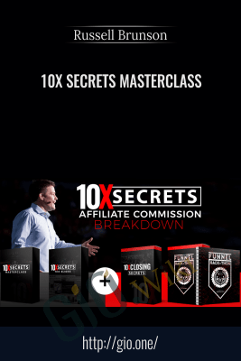 10x Secrets Masterclass (TO 1 - 10X Secrets Slide Bump + OTO 2 - 10X Closing Secrets)