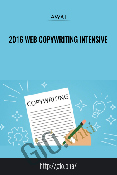 2016 Web Copywriting Intensive - Avai