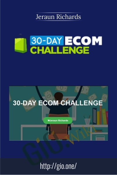 30-Day Ecom Challenge - Jeraun Richards